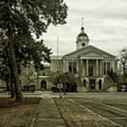 Aiken County Courthouse Poster