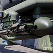 Aim-92 Stinger Weapon And Gunpod Poster
