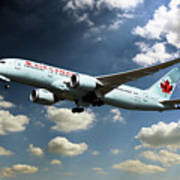 Air Canada 787 Dreamliner Poster
