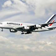 Air France A380-800 F-hpjb Poster