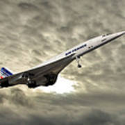 Air France Concorde 115 Poster