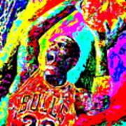 Air Jordan Poster by Mike OBrien