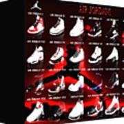 Air Jordan Shoe Gallery II Poster