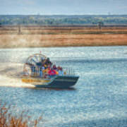 Airboat Rides Poster