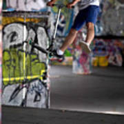 Airborne At Southbank Poster