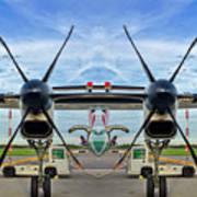 Aircraft Abstract Poster