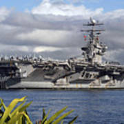 Aircraft Carrier Uss Abraham Lincoln Poster