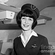 Airline Stewardess Poster