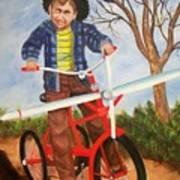 Airplane Bike Poster