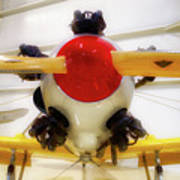 Airplane Wooden Propeller And Engine Pt 22 Recruit 02 Poster