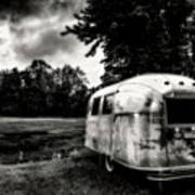Airstream Reflection Poster