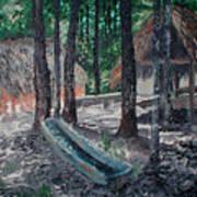 Alabama Creek Indian Village Poster