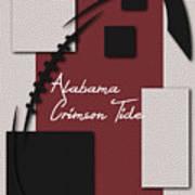 Alabama Crimson Tide Art Poster