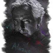 Alan Rickman Poster