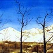 Alaska Blue Sky Day  Poster