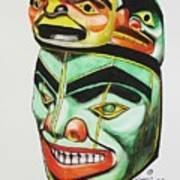 Alaska Masks Poster