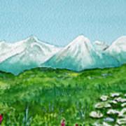 Alaska Splendor Poster