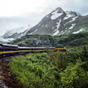 Alaska Train Poster