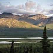 Alaskan Glacial Valley Poster