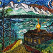 Alaskan Orthodox Church Poster