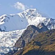Alaskan Snowtop Poster