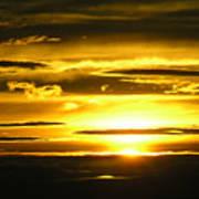Alaskan Sunset Poster