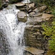 Alaskan Water Fall Poster