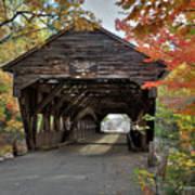 Albany Covered Bridge Poster