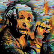 Albert Einstein - By Prar Poster