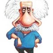 Albert Einstein, Caricature Poster