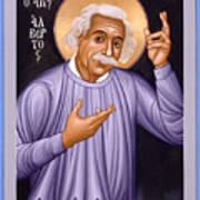Albert Einstein  Scientist, Humanitarian, Mystic - Rlabe Poster