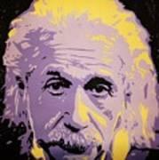 Albert Enstein  Poster by Grant  Swinney