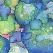 Alcohol Ink #2 Poster