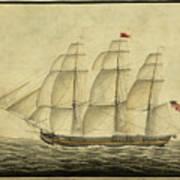 Alcono Sailing Vessel Poster