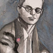Aldous Huxley Poster