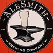 Alesmith Sign, Newport R. I. Poster