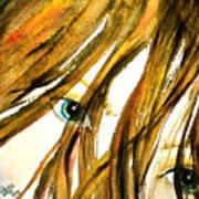 Alex - Digitally Enhanced Poster by Cheryl Dodd