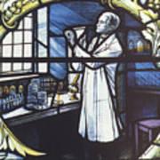 Alexander Fleming, Scottish Biologist Poster