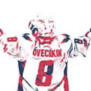 Alexander Ovechkin Washington Capitals Pixel Art 9 Poster
