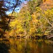 Alexandria Creek In The Fall Poster