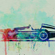Alfa Romeo Tipo Watercolor Poster by Naxart Studio