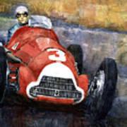 Alfa Romeo158 British Gp 1950 Luigi Fagioli Poster