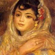 Algerian Woman 1881 Poster