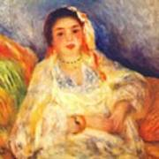 Algerian Woman Seated 1882 Poster