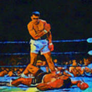 Ali Over Liston Poster