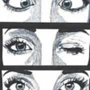 Alien Eyes Poster