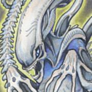 Alien Movie Creature Poster