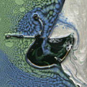 Alien Ocean Sigil Poster