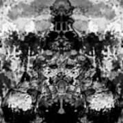 Aliena - Monochromatic Poster