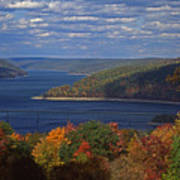 Allegheny National Forest Lake  Poster